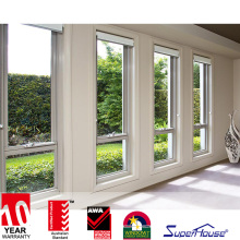 Superhouse Australia standard AS2047 double aluminum shed window aluminium burglar proof window