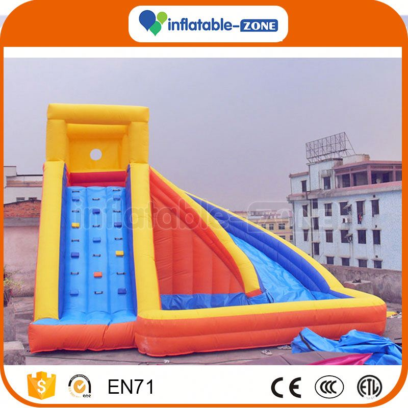 Super quality biggest inflatable slide inflatable climb and slide