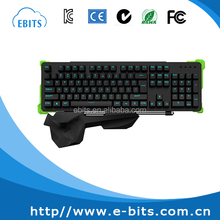 Cheap high quality 50 millions times lifetime keys backlit mechanical keyboard