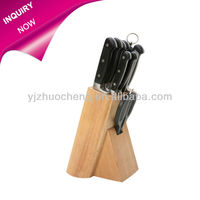 Popular 10 pcs staninless steel kitchen knife set with scissor