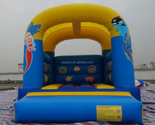bouncing castle inflatable kids play, under the sea theme bounce house