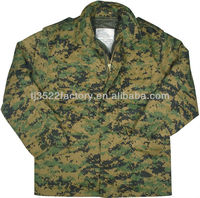 Digital camouflage military M65 Field Jacket