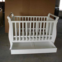 3 in 1 convertible wooden baby bed baby crib baby cot