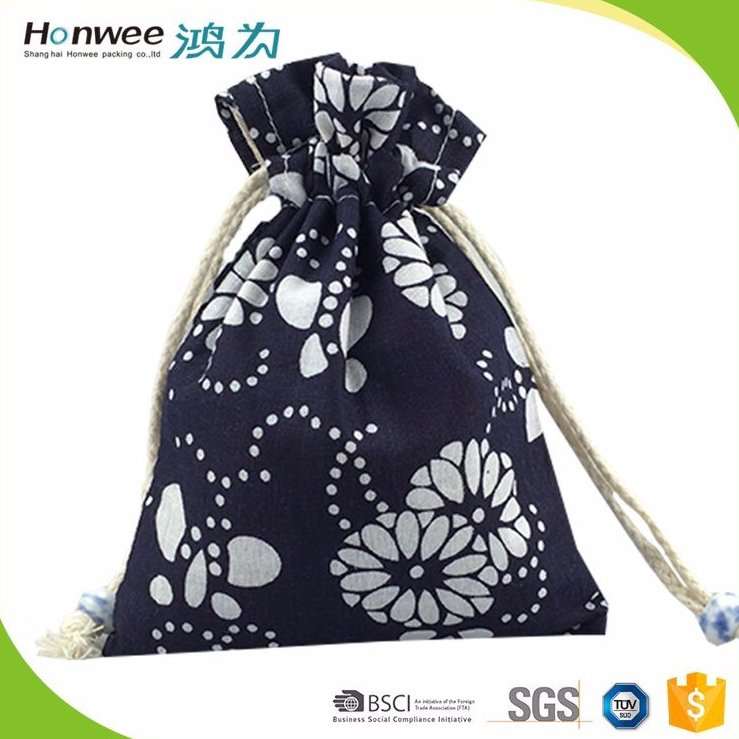 Wholesale Simple Design Drawstring Gift Bags Pouches