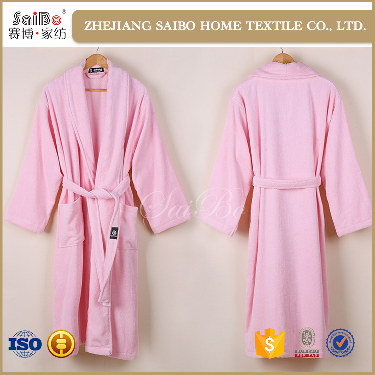 New design Healthy and warm woman cotton bathrobes