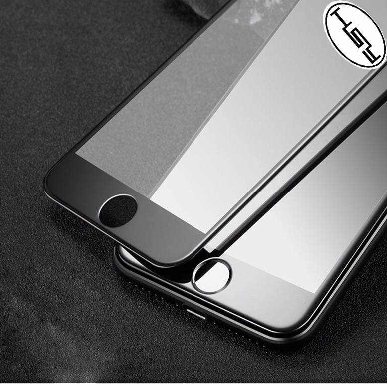 HUYSHE anti-broken 9h premium mobile phone use tempered glass screen protector for iphone 7 3D full glue