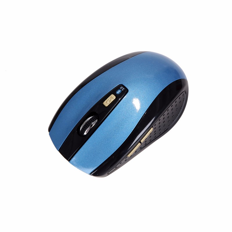 2016 Blue Waving Wireless Optical Bluetooth 3.0 Mouse