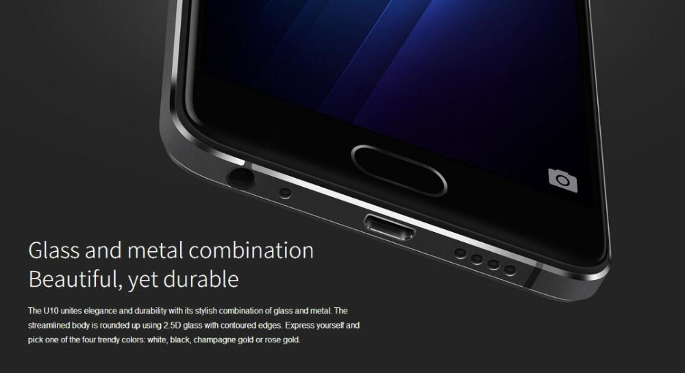 "Original MEIZU U10 4G LTE FDD Smart Phone Octa Core 5.5"" HD 2G RAM 16G ROM 13.0MP Camera meizu Cell phone"