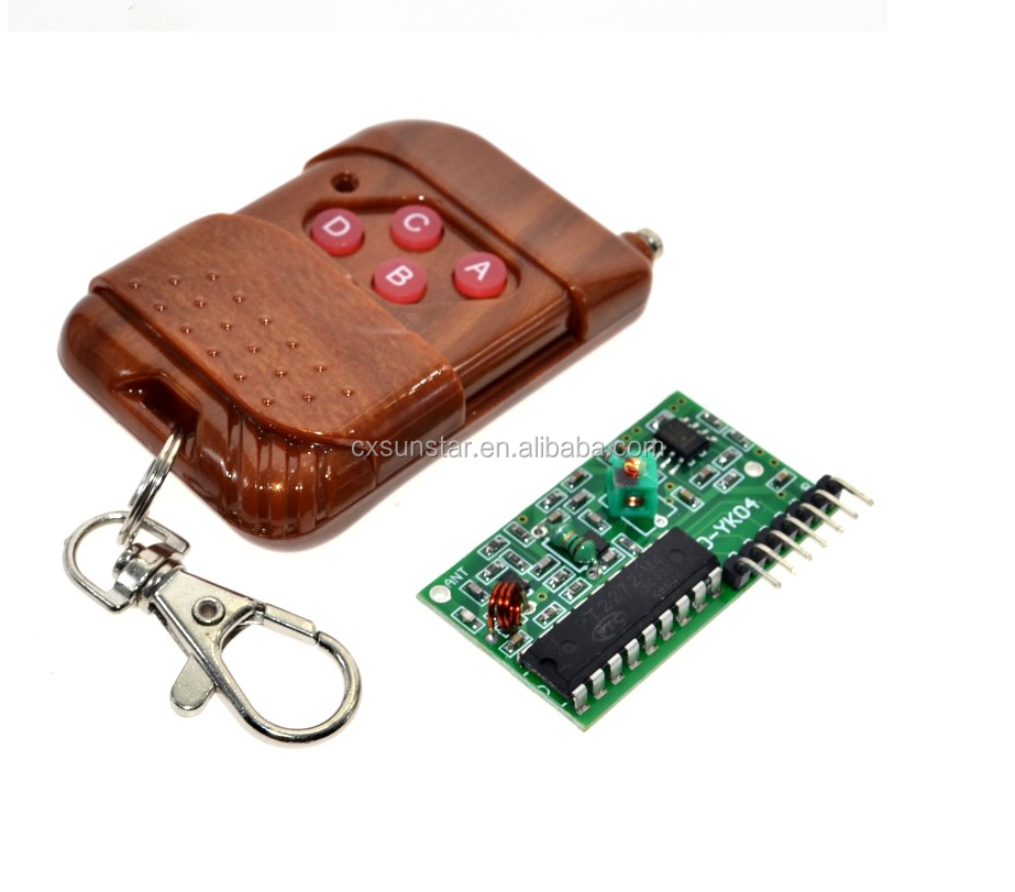 2262/2272 4 Channel 315Mhz Key Wireless Remote Control Kits Receiver module