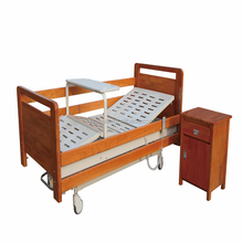 Factory Hospital Nursing Room Furniture Electric Use Multifunctional Wooden Bed