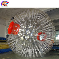 High Quality Factory price cheap inflatable body zorbing ball
