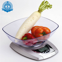 Fashion design LCD display cheap price stainless steel kitchen scale