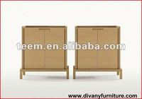2012 Hot Sale Living Room/hotel Furniture solid rubber wood cabinet SM-D23B