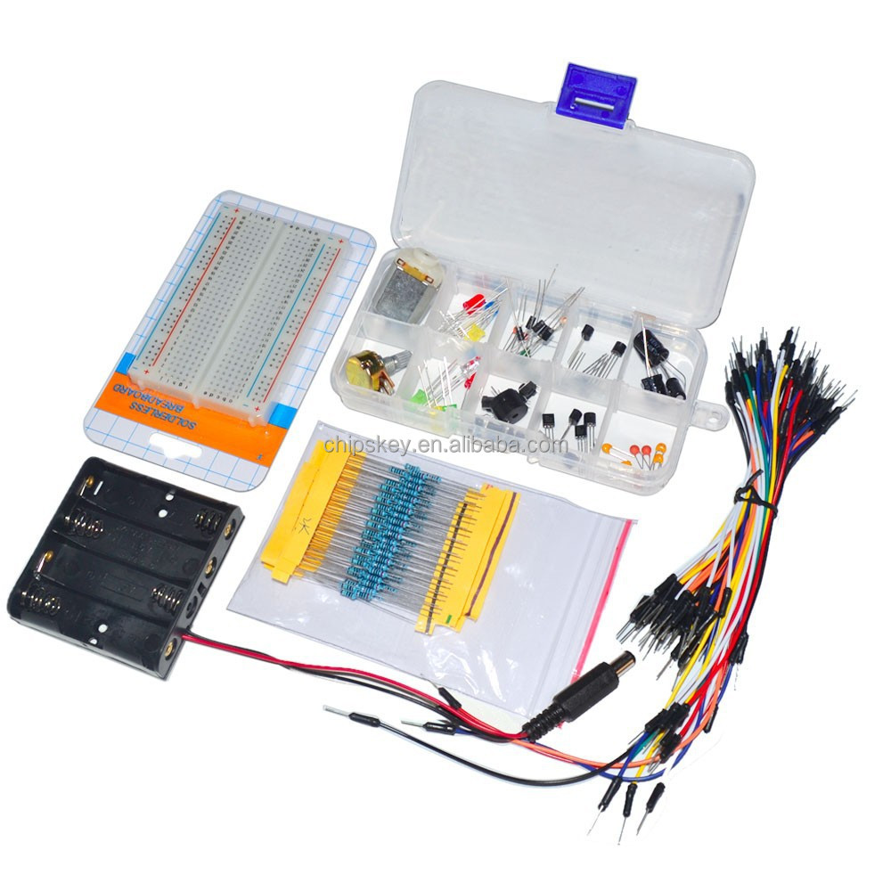 Components pack kit <strong>C1</strong> common use Compatible for Arduino Kit