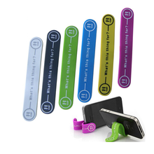 universal silicone promotional phone holder magnetic