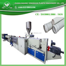 PVC pipe making machines / production line made in China