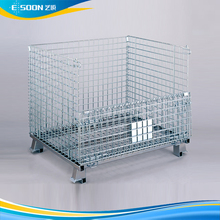 Stackable and Foldable Wire Containers Industrial