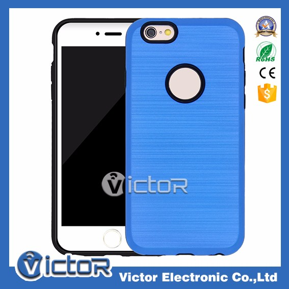 Wholesale cell phone accessories 2in1 combo case for iPhone 6 plus
