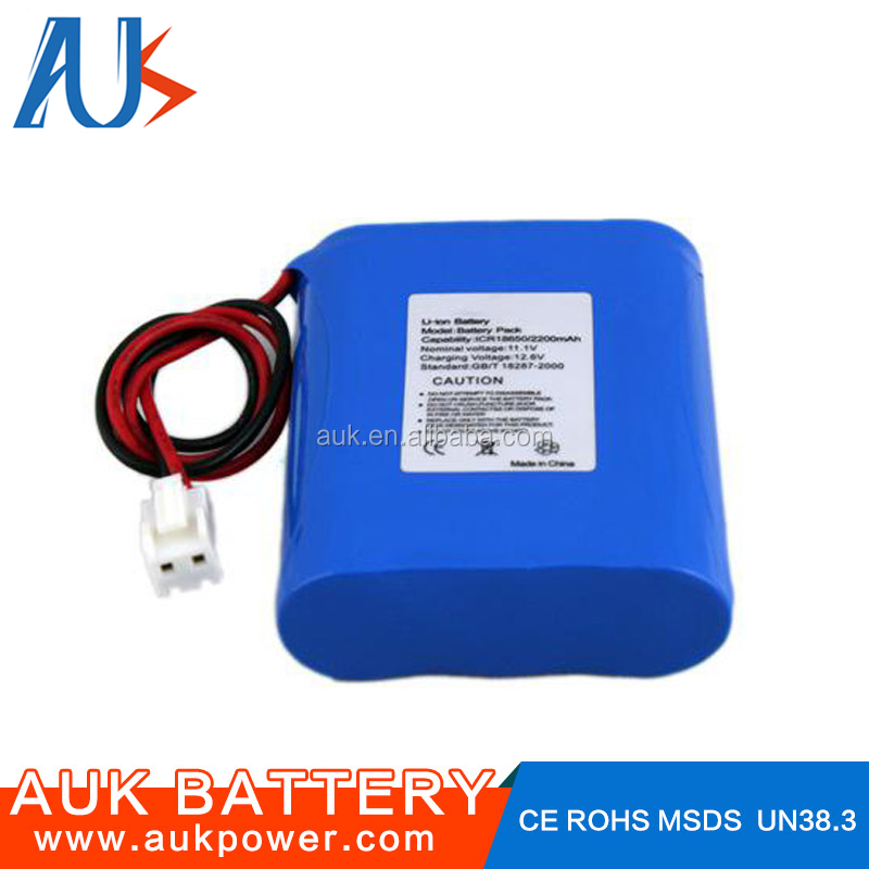 Rechargeable 12 Volt Lithium ion Battery 12v 2000mAh 11.1V Li ion Battery