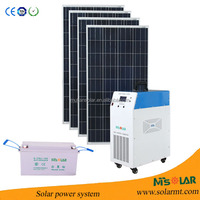CHEAPEST 2.0 KW solar power system/transformer/generator with inbuilt battery charger& LCD display