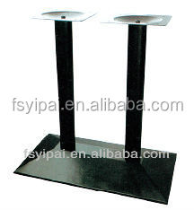 metal coffee acrylic dining back cast iron table base table legs brackets (F27)
