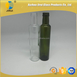 250ml empty clear round glass olive oil Bottle