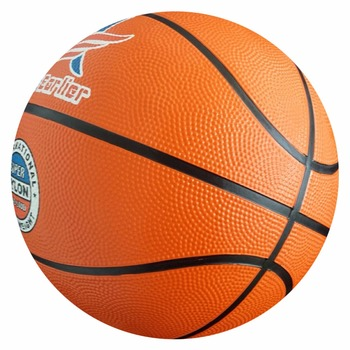 cheap wholesale size7 6 5 4 1 rubber material orange color basketball with custom design