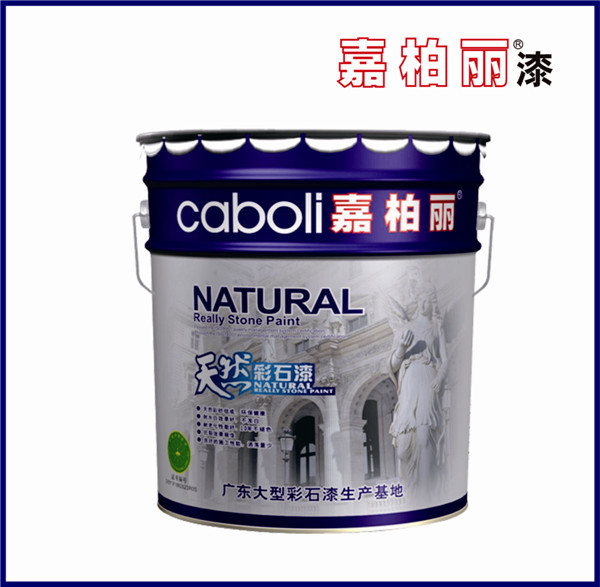 Caboli exterior wall textured spray paint