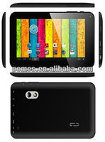 Cheap 7 inch dual core tablet pc VIA8850 with dual camera android 4.0 capacitive standard usb 2.0 port 1.2GHz/512MB/4GB