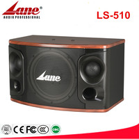 Professional 10 inch 3 way Karaoke speaker with perfect sound & clearly voice LS-510