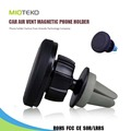 Universal 360 degree rotation car phone mount cell phone holders car air vent silicone magnet magnetic phone holder