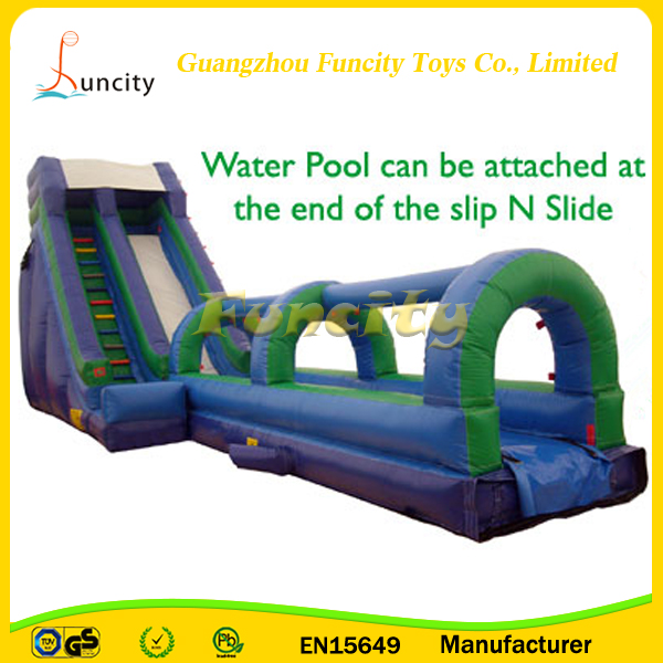 Commercial giant long slide inflatable volcano water slide inflatable slipe and slide for adult and kids