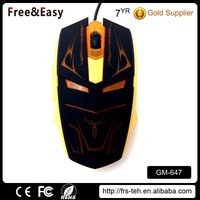 Driver usb 6 buttons wired optical gaming mouse for computer accessory