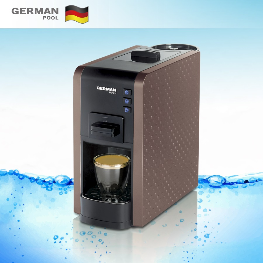 German Pool Tailor made Professional 2KW Lavazza Espresso Point Easy Button Control Manual Coffee machine for office