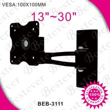 "Folding TV wall mount with vesa 100x100mm for 13""- 30"" screen"