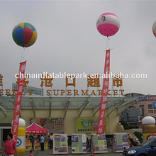 inflatable helium balloon / giant advertising flying blimp / airship round sphere balloon