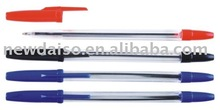 Plastic colored BIC ball point pen gift promotional pens made in china