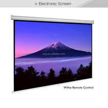 "Cheapest Factory Price of 200"" electronic/manual/tripod projector screen"