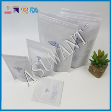 smell proof mylar packaging bag for medical cannabis