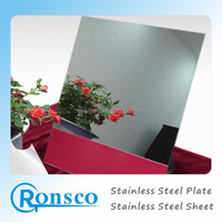 factory provide 8K mirror polished stainless steel 304 sheet