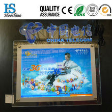 hot brand new products crystal light box for 2014 advertising