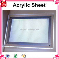 A4 rectangle high brightness acrylic real estate agent window led display