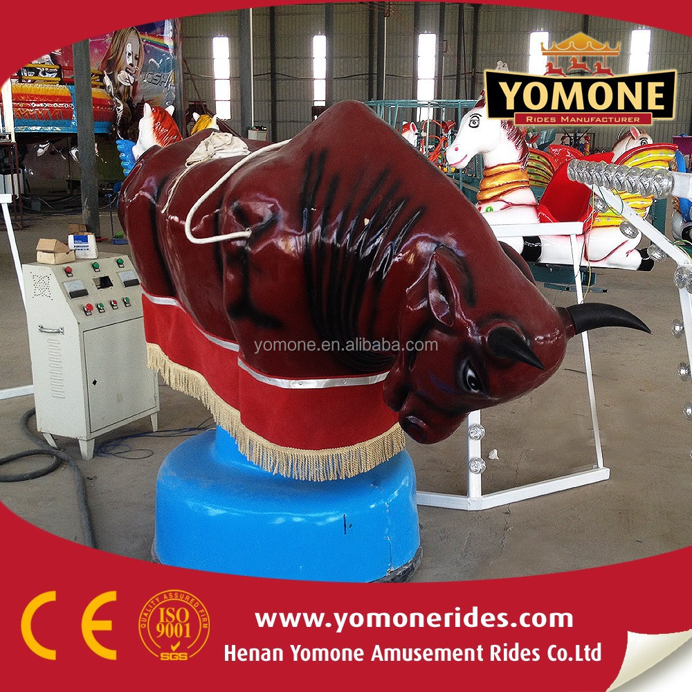 indoor rides Inflatable bull riding machine,mechanical bull fighting
