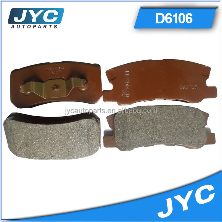 China wholesale high performance non-asbesto car brake pads for atv