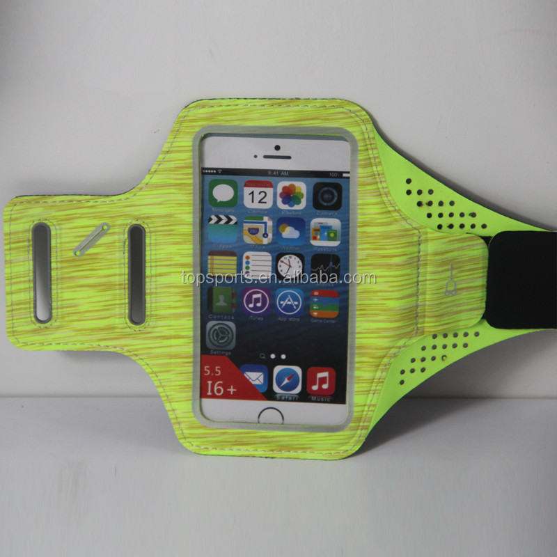 custom Hot Selling Outdoor Waterproof Running Reflective Sport Phone Armband