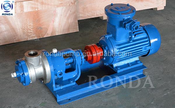 NYP RONDA resin transfer pump low speed high viscosity oil transfer gear pump