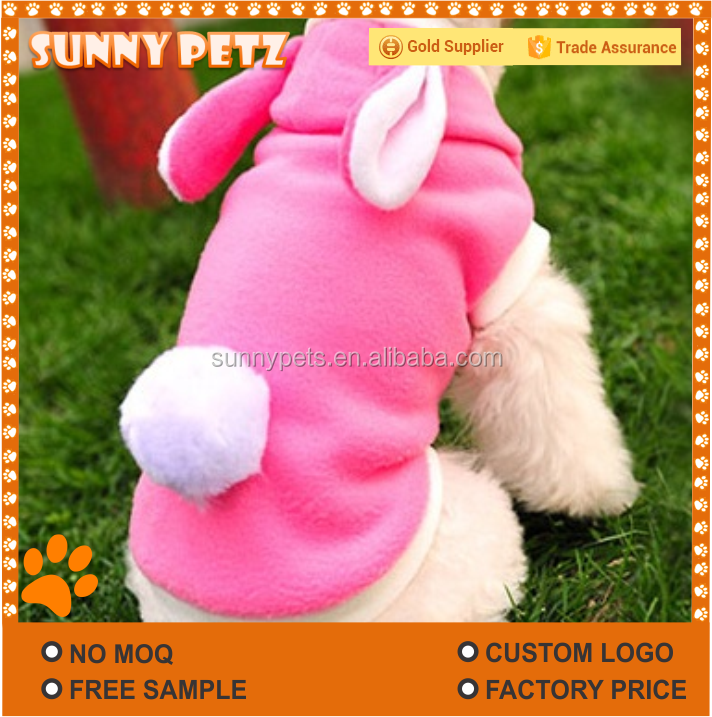 Rabbit Costume Cotton Clothes For Puppies Dogs Cats Pets