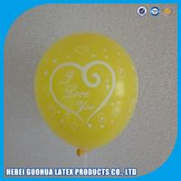 helium inflatable square balloon floating in the air