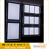 Custom LED Panel Backlit Frame Wall Mounted A1 LED Light Window Crystal LED Light Window Display Light Box