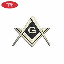 Masonic Emblem Logo Badge Custom Car Emblem
